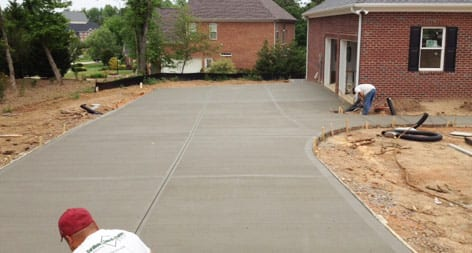 Carolinas Concrete Finishers Driveways