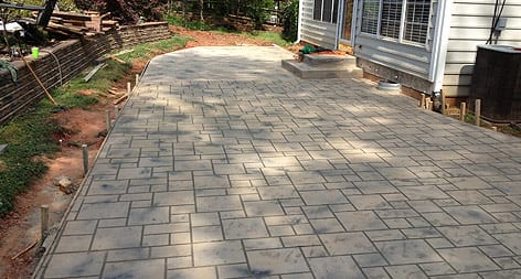 Carolinas Concrete Finishers Patios